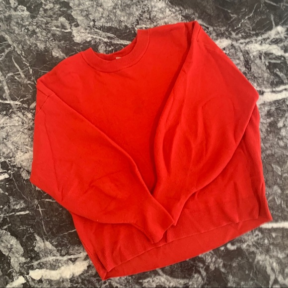 H&M - Red Sweater